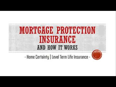 Mortgage Protection Insurance and How It Works!