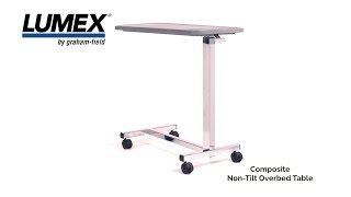 Lumex® Overbed table GF8903P HD