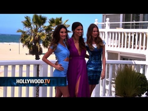 hollywoodtv - Three of Victoria's Secret's most popular Angels -- Adriana Lima, Lily Aldridge and Behati Prinsloo celebrated the 8th annual What is Sexy? List at Shutters ...