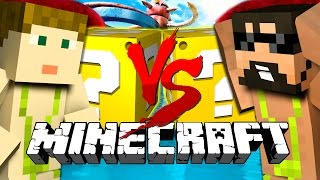 Minecraft | WIPEOUT LUCKY BLOCK CHALLENGE | Head to Head DEATH