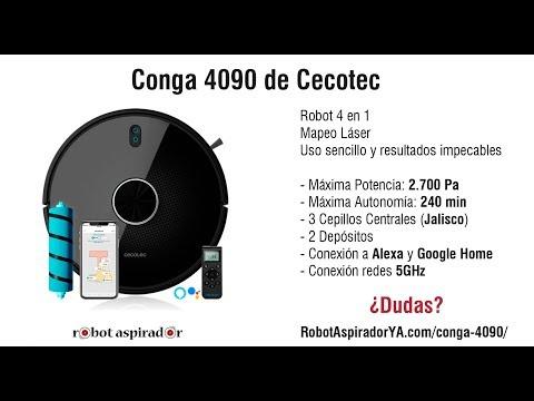 Modelos de uñas - Conga 4090. El mejor robot aspirador de 2019 (review completa)