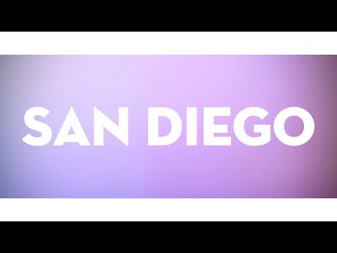 San Diego Lyric Video