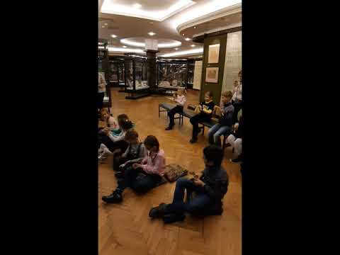 Экскурсия  2А класса в музей музыкальной культуры им. М.И. Глинки (2019)