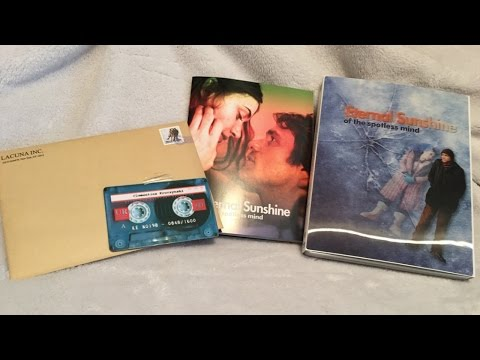 Eternal Sunshine Of The Spotless Mind SteelBook - KimchiDVD Exclusive Lenticular Blu-ray Unboxing