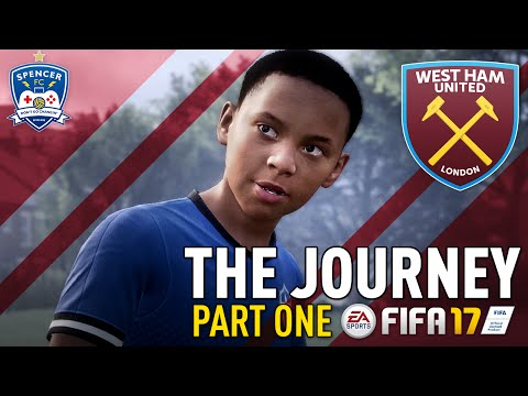 THE JOURNEY! #1 - FIFA 17 - AND SO IT BEGINS! LET'S GO ALEX HUNTER!