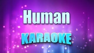 The Killers - Human (Karaoke version with Lyrics)