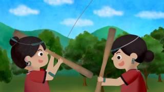 族語夢工廠 -撒奇萊雅語 -12卑南族動畫 風箏救弟