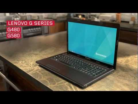 Lenovo G480/G580 laptop tour