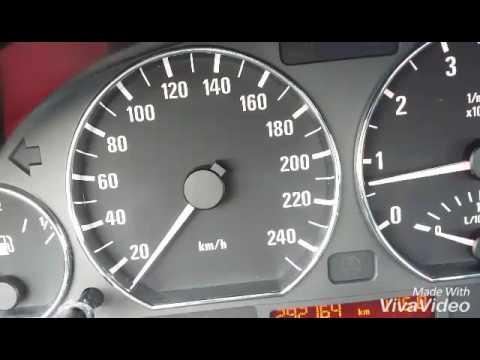 BMW e46 328i Touring ACCELERATION 0-160Km