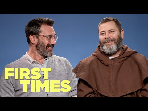 Jon Hamm And Nick Offerman Tell Us About Their First Times