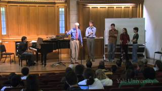 Lecture 12. Guest Conductor: Saybrook Orchestra