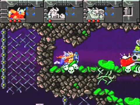 The Lost Vikings 2 Super Nintendo