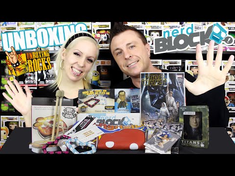 Nerd Block Classic Unboxing Video Review: February 2015 Edition