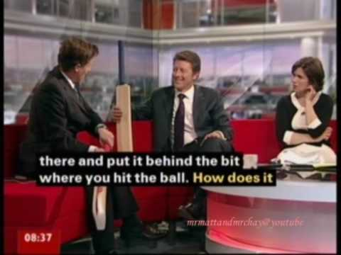 """Go for that sex, Kevin Pietersen Style"" - BBC Breakfast blooper!"