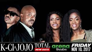 KCI & JOJO and Total at the Arena Theatre