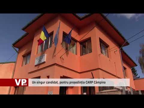 Un singur candidat, pentru președinția CARP Câmpina