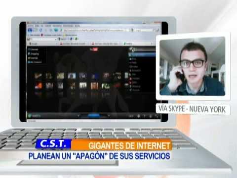 google sopa - El objetivo de los gigantes de internet es alertar a los internautas de las consecuencias que traería consigo esta ley, que según las autoridades estadounide...