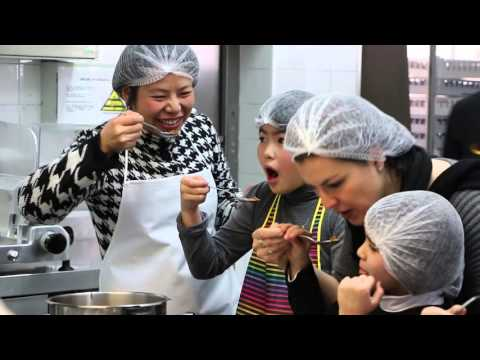 Taller de cocina con alumnos y Familias
