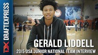 Gerald Liddell 2015 USA Basketball Mini-Camp Interview