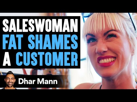 Saleswoman FAT SHAMES A Customer, Lives To Regret It | Dhar Mann
