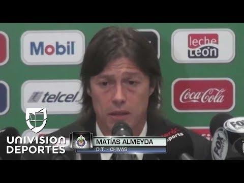 Matías Almeyda se despidió del 'Gallito' Vázquez