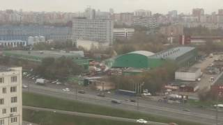 17.10.2016 Горит мусор на МСС.