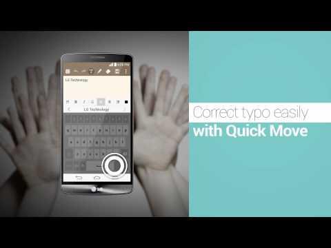 "LG G3 - prezentacja funkcji ""Smart Keyboard"""