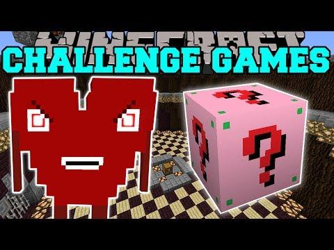 Minecraft: EVIL CUTIE CHALLENGE GAMES - Lucky Block Mod - Modded Mini-Game (видео)