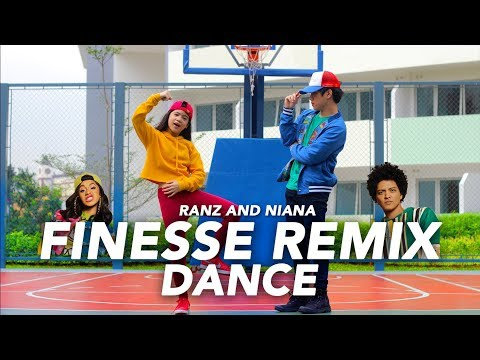 Video FINESSE (Remix) - Bruno Mars ft Cardi B Dance | Ranz and Niana download in MP3, 3GP, MP4, WEBM, AVI, FLV January 2017