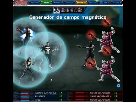 Mostrando X-23 Hormiga & Punisher Avengers Alliance & Equipo Ganador