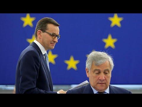 ΕΕ vs Πολωνίας: Η αντιπαράθεση κλιμακώνεται και στην Ευρωβουλή…