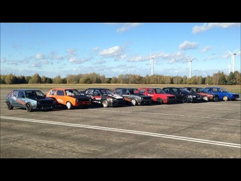 TTT 27.10.2013 Turboscheune Test & Tune 1/4 Meile Dragracing (видео)