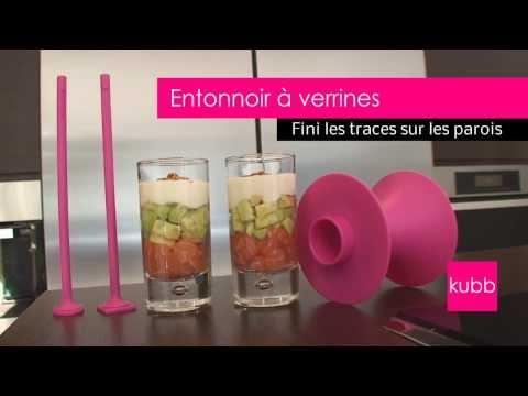 comment remplir verrine