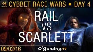 Rail vs Scarlett - PvZ - CybBet Race Wars - Day 4