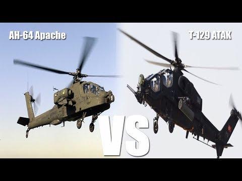 Boeing Apache, Turkish ATAK Compete...