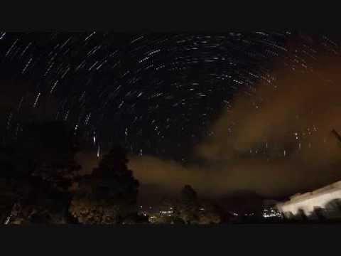 Senderos de Estrellas en el cielo de Gran Canaria