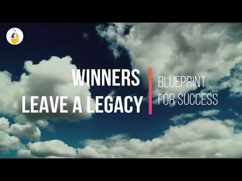 Success quotes - Winners Leave A Legacy  Blueprint For Success  Motivational Quotes