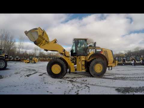 CATERPILLAR WHEEL LOADERS/INTEGRATED TOOLCARRIERS 980K equipment video Yno9KaCp99s