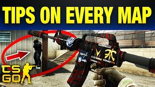 https://csgoempire.com/r/guidesInsanely useful hidden tips for EVERY map In CS:GO (2017). Because there are about a bazillion maps in CS:GO, we will only cover the active duty maps and of course dust2.. You can't forget dust2. Without any further delay, let's get right into these.In this video we talk about: Best Smokes In CS:GOBest Tricks & Tips CS:GOHidden Spots In CS:GO▼ STAY CONNECTED! ▼Follow Us on Social Media!★ Twitter: http://Twitter.com/UltraGuides★ Discord: https://discord.gg/ultra★ Twitch: http://Twitch.tv/UltraGuides___That just about does it for this video guys, if you liked Useful Tips For Every Map In CS:GO, hit that like button, if you want to see more videos like this as they are made public, subscribe. If you want to enter in some sick giveaways, you can follow us on twitter @UltraGuides. If you wanna hang with me and the other UG members, you can join our Discord server.  Thank you so much for staying till the end of the video. Stay amazing, and we will see you, in the next one.