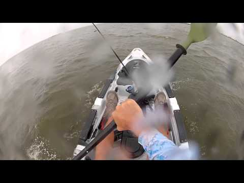 Predator 13 In Rough Seas - kayak fishing, kayak photos, kayak videos