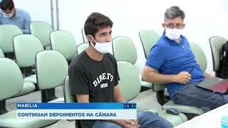 Marília: segundo dia da CP é marcado por ânimos alterados durante as oitivas