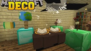 Video Minecraft: ANIMATED DECORATIONS (CEILING FAN, BOUNCING BALL, & SPINNING GLOBES!) Custom Command MP3, 3GP, MP4, WEBM, AVI, FLV September 2018