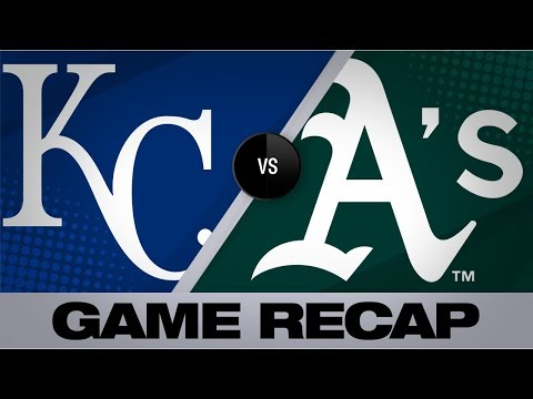 Video: Olson, Puk lift A's to 2-1 victory | Royals-Athletics Game Highlights 9/17/19