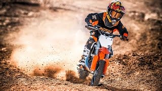 8. 2017 KTM 50 SX Mini | A real KTM for young crossers
