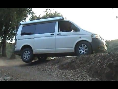Volkswagen transporter 4motion T5