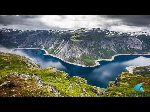 Яхтенное путешествие по Норвегии - стране фьордов и северных сияний. (видео)