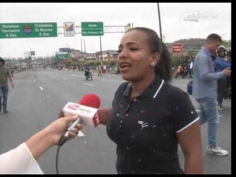 Fuertes disturbios en puente de Unidad Nacional que dejó más de 10 retenidos