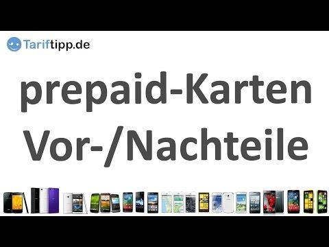 prepaid-Karten für Handys| Vor- und Nachteile von prepaid-Tarifen