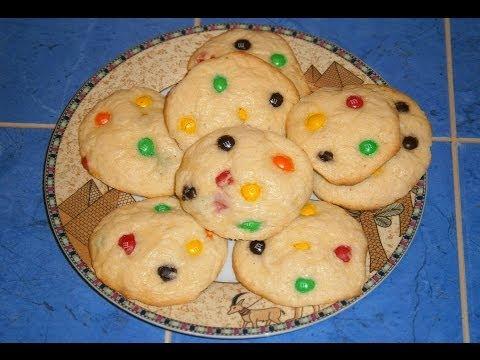 печенье кукис с ммдемс рецепт с фото