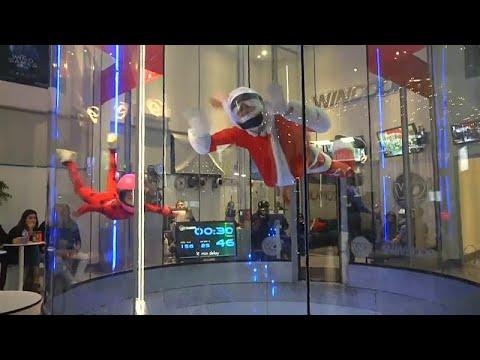 Spanien: Der Weihnachtsmann kommt angeflogen